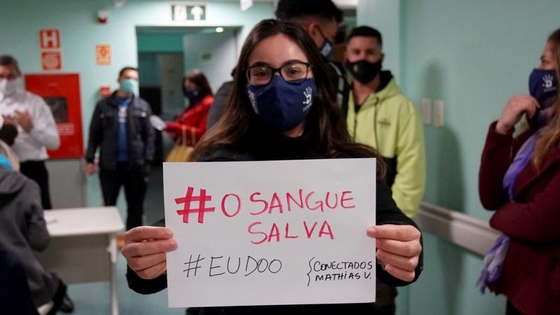 Caleb Mission Participants Donate Blood in Rio Grande do Sul