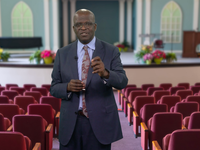 Director of Public Affairs and Religious Liberty for the Seventh-day Adventist Church, Ganoune Diop presents on the 3 Angels Messages during the 2021 Annual Council.