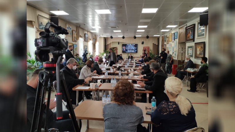 Adventist Church in Moscow Participates in Memorial Event for the Liberators of the World from Nazism