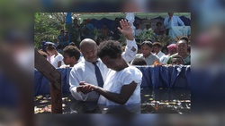Attendees were urged to give their lives to Christ. [Photo Courtesy of Adventist Record]