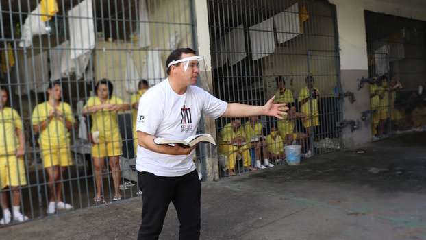 In all, 12 prisons in the Federal District and region are covered by the project. [Photo: Arthur Felipe and Geovani Lima]