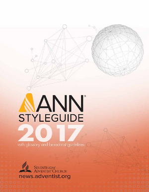 ANN Styleguide English