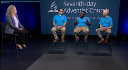 Watch this interview with the Youth and Young Adult Ministries team to learn more about the convention, and find out how to register. [Photo: Screen grab from the North American Division's website]