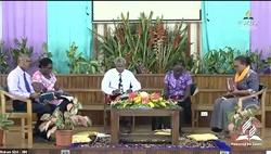 Participants leading out at Kukum Church, Solomon Islands. [Photo Courtesy of Adventist Record]