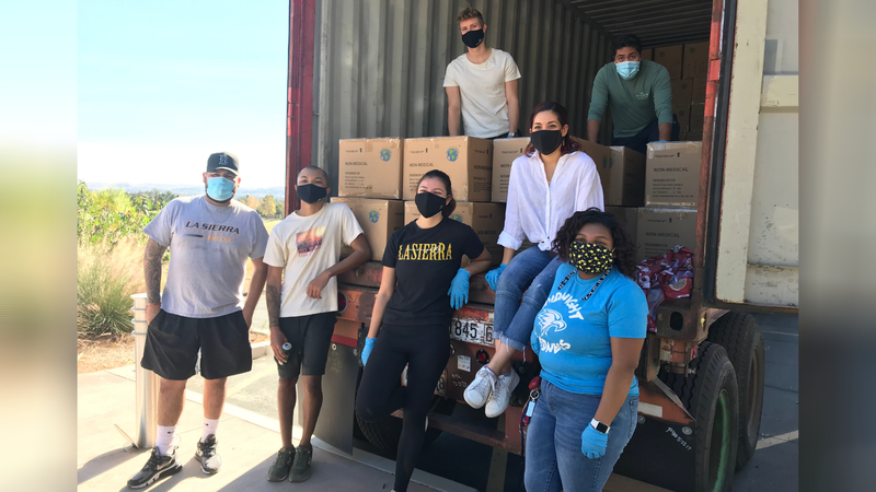 Southern California Covid-19 Cases Surge: Adventist Development and Relief Agency Partners with La Sierra University to Distribute Thousands of Masks to Impacted Communities