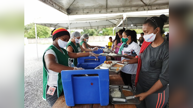 Humanitarian Agency Offers Free Meals to Needy People in Roraima
