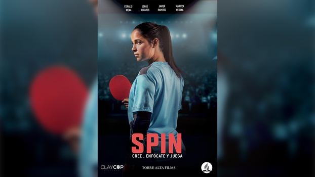 Spin, a film about a teenager who learns to play table tennis and finds meaning in her life, is the first major film showcased by the Seventh-day Adventist Church in Puerto Rico throughout drive-in theaters on the island. [Image: Puerto Rican Union]